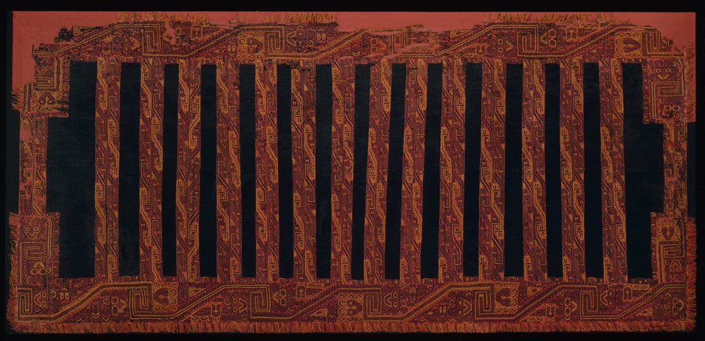 Mantle (Peruvian, Paracas, 0–A D  100) – Textiles in Context